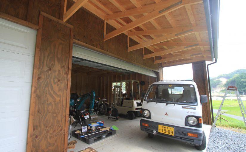 ガレージの内装について(2)
